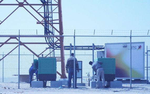 Os grupos electrogéneos Inmesol, na rede de telecomunicações da Arábia Saudita