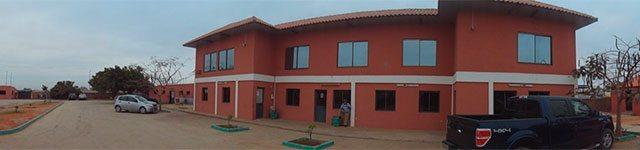 Instalações da NGRC em Luanda, Angola