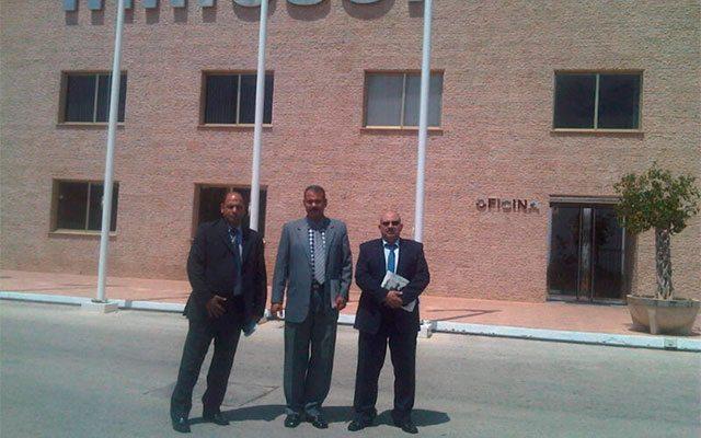 delegação do Governo egípcio e Egyptian Consulting & Trading Company (ECTRA)
