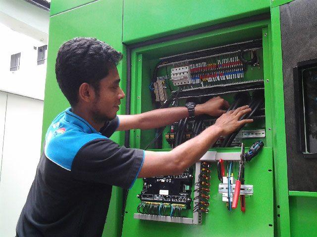 Técnico instalaçao do grupos electrogéneos