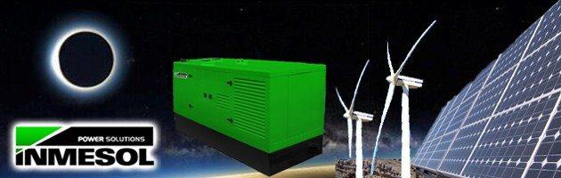 Os grupos electrogéneos garantem o abastecimento elétrico durante os eclipses solares