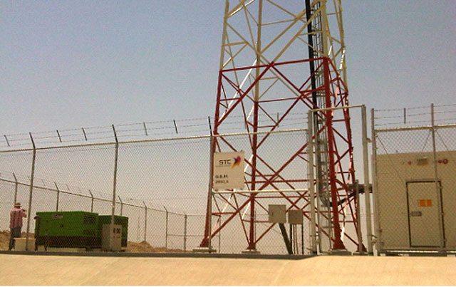 Grupos electrogéneos Inmesol instalados no deserto.
