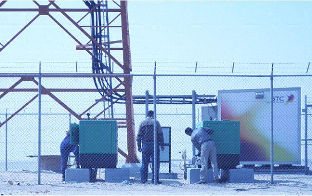 Nossos equipamentos, instalados na empresa de telecomunicações Saudita Telecom Company.