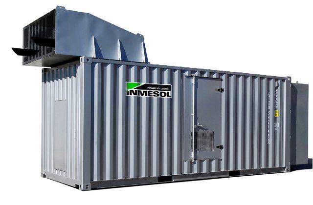 Novo modelo de contentor superinsonorizado IT-1010