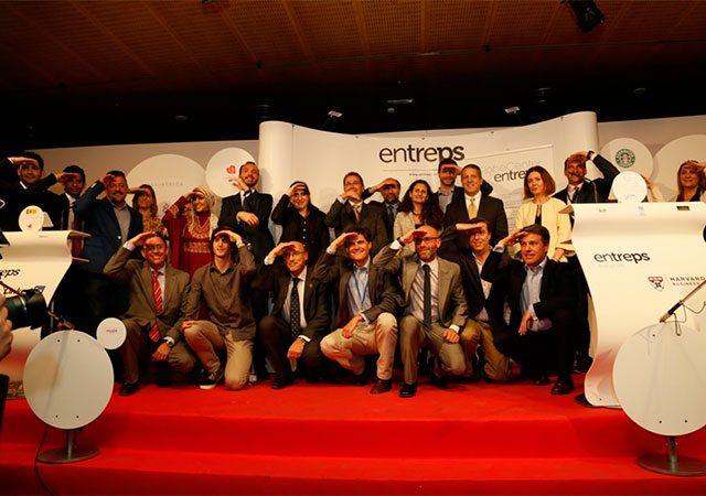 Os premiados com os Entreps Awards 2015