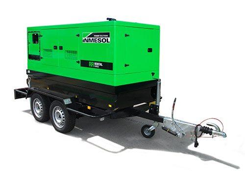 Transportáveis kit móvel grupos eletrogéneos Inmesol