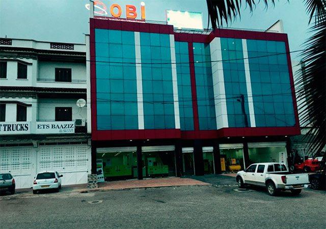 Imagem da nova sede da Sarl Obi em Argel