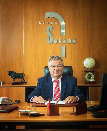 Sr. José Luis Solano, fundador e presidente do Grupo Solano