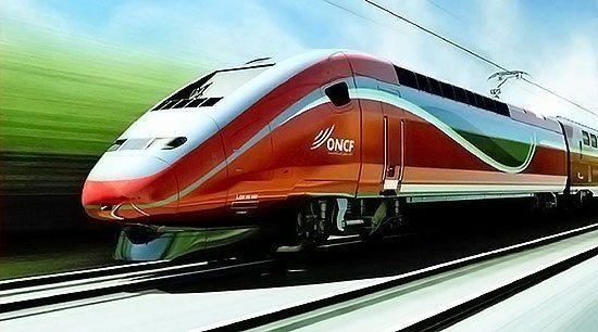 Comboio de alta velocidade ONCF