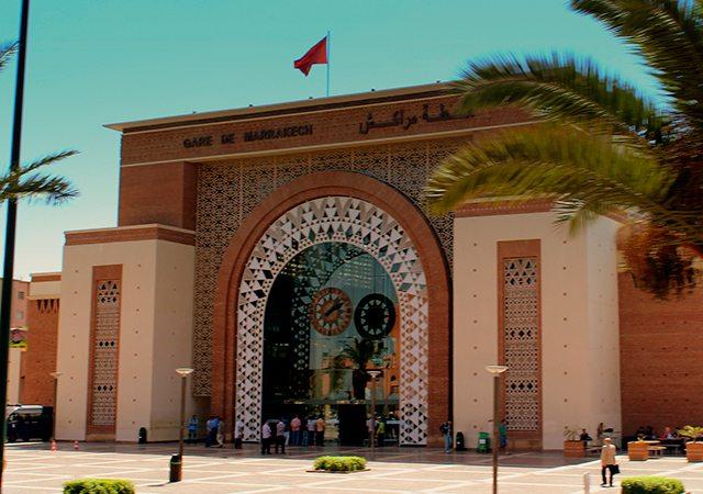 Estação de comboios da ONCF em Marráquexe