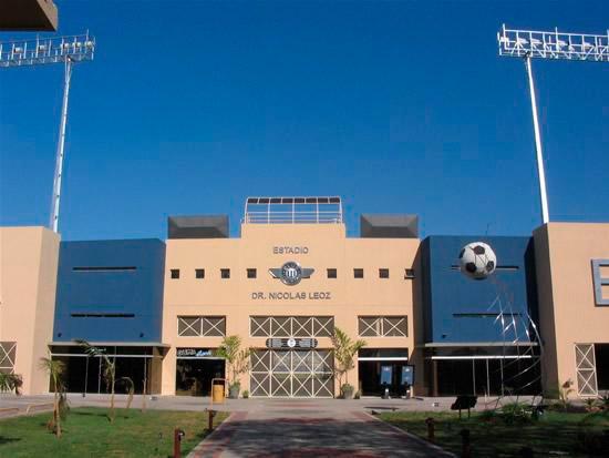 """Vista exterior """"Estadio Dr. Nicolás Leoz"""". Foto extraída de la página web del Club Libertad"""