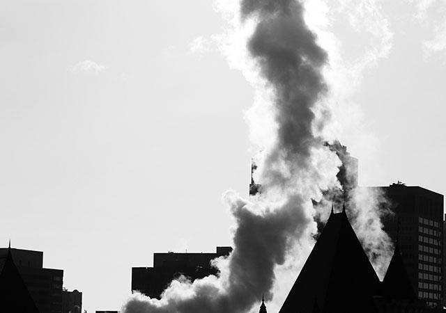 Emisiones contaminantes a la atmósfera
