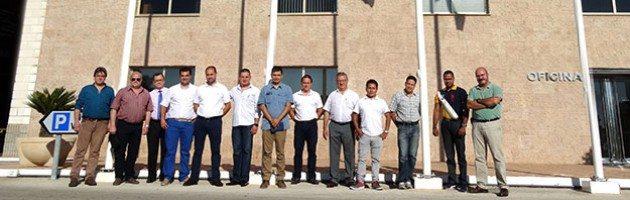 Distribuidores de Latinoamérica junto a la Directiva y responsables técnico y comercial de Inmesol