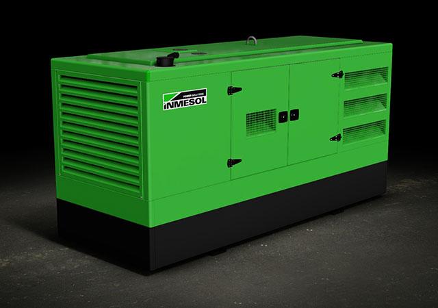 Novo desenho de carroçarias de grupos electrogéneos INMESOL Mod.- 300-400