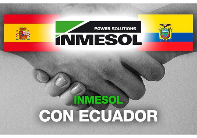 Inmesol, com o povo equatoriano