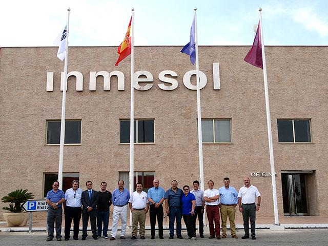 Distribuidores da América Latina, equipa técnica e comercial com a Direcção da INMESOL