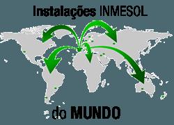 Instalações do grupos electrogéneos INMESOL do mundo