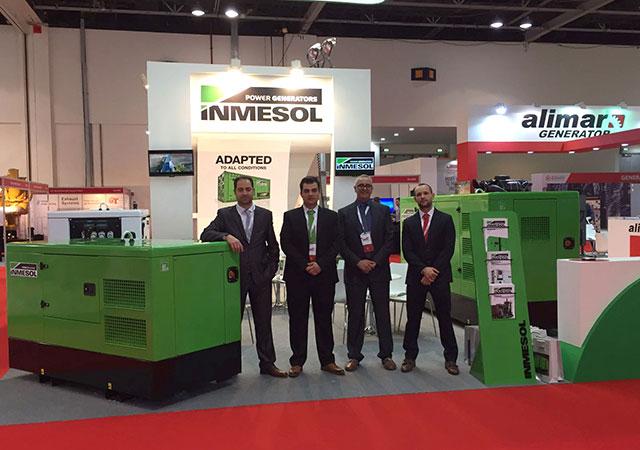 Delegação da Inmesol na Middle East Electricity de 2017