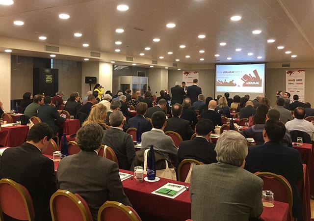 Uma das conferências do Fórum ASEAMAC 2017