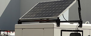 Energia solar para garantir o arranque de um grupo electrogéneo