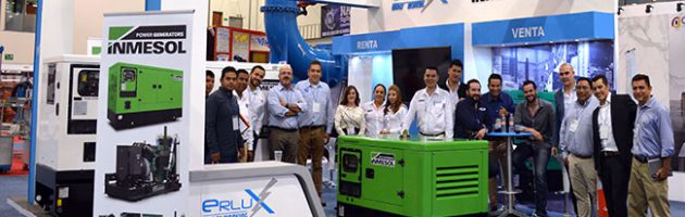 Equipe de vendas de ERLUX Power Group