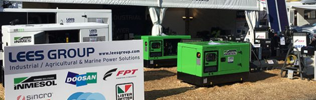 Cabina de LEES GROUP Power Solutions na National Agricultural Fieldays 2017