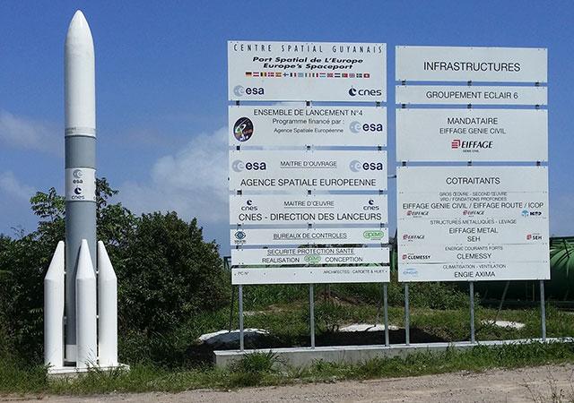 Centro Espacial Europeu de Kourou ou Centro Espacial da Guiana