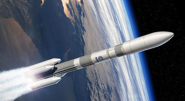 Infografia do desenho do Ariane 6