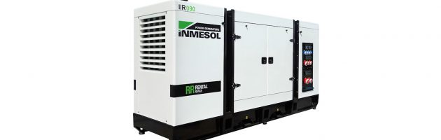 A INMESOL lança a sua série de grupos electrogéneos Rental ultrassilenciosos