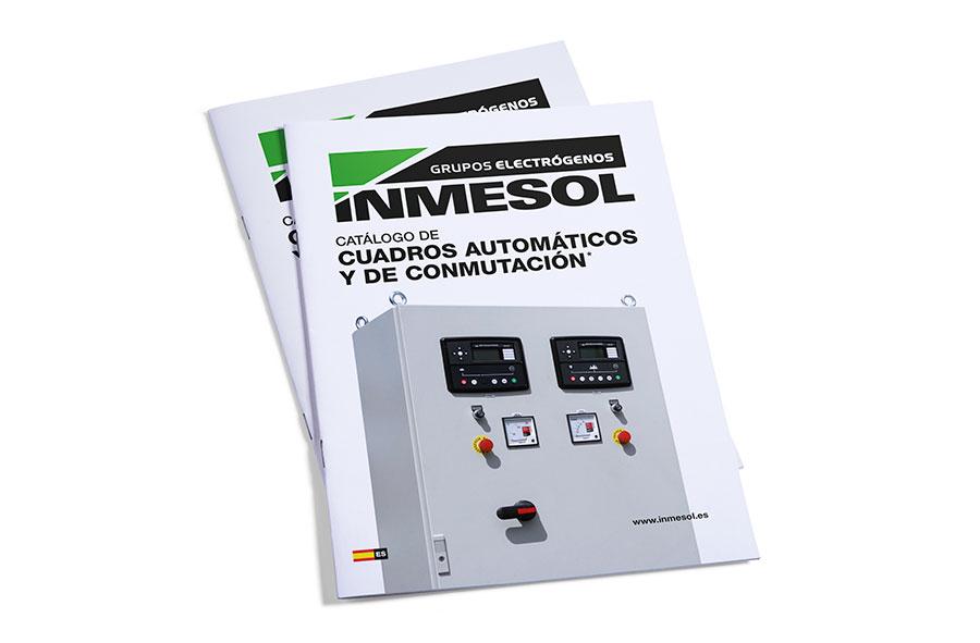 Catálogo de controlos automáticos e painéis AMFATF da INMESOL